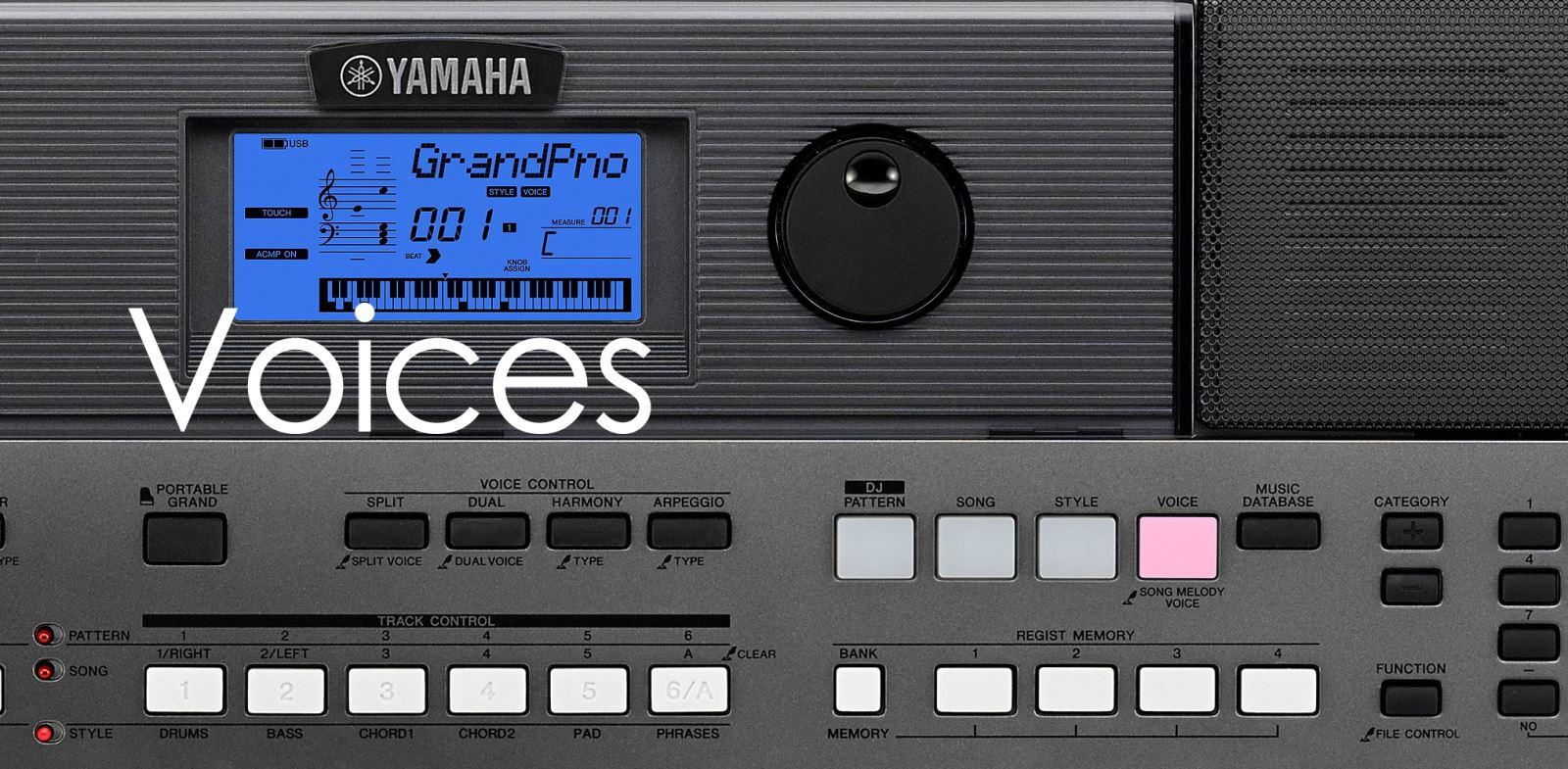 Organ Yamaha Psr E443