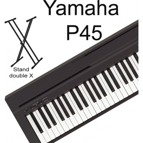 nh gi nhanh n piano i n yamaha p45. Black Bedroom Furniture Sets. Home Design Ideas