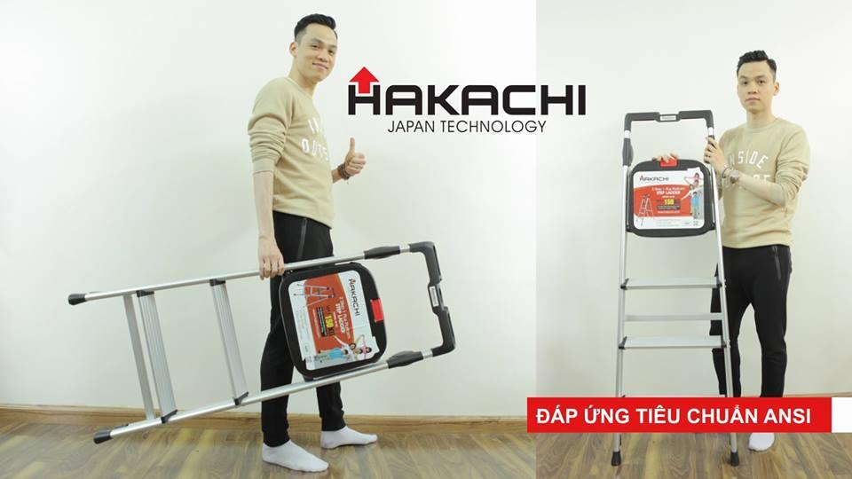 thang nhom hakachi, thang ghế 3 bậc, ghế thắp hương, ghế thông minh, thang giá rẻ
