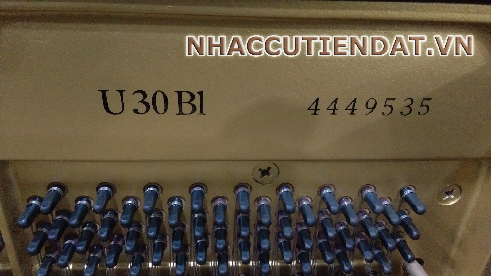 Đàn cơ Piano Yamaha U30BL
