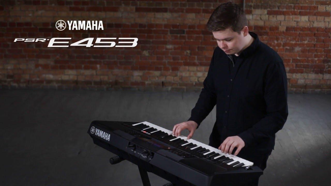 Organ Yamaha PSR - E453