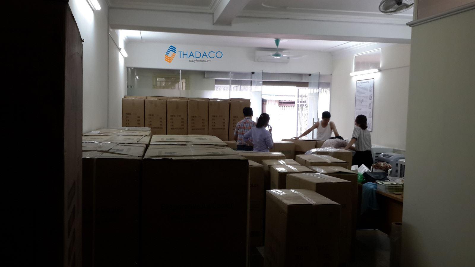 kho hàng máy làm mát không khí thadaco