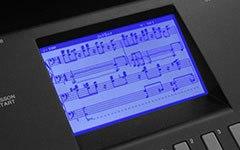 giao diện piano yamaha DGX 660